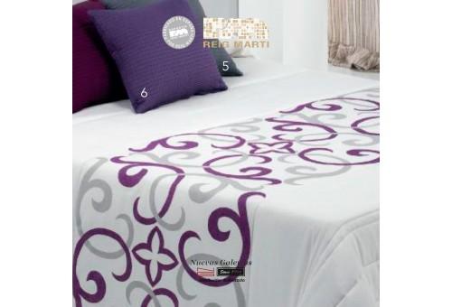 Reig Marti Bedspread Quilt | Vanity 1-09 Violet