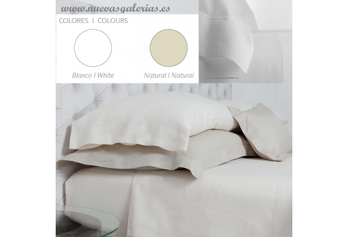 Bassols Sheet Set Bassols | Ha 100%Lino - 1 Sheet Set Ha de Bassols 100% Lino Europeo,3 piezas,Calidad Garantía Bassols