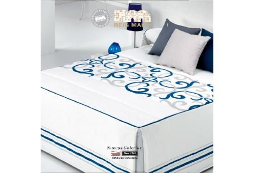 Colcha Edredon Reig Marti | Vanity 1-03 Azul