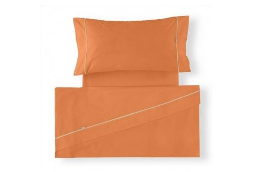 Juego de sábanas LISOS BIÉS 100% algodón (144 hilos). Es-Tela 331-MANGO