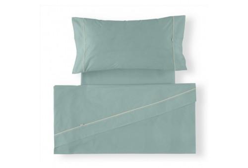 Juego de sábanas LISOS BIÉS 100% algodón (144 hilos). Es-Tela 316-AQUA