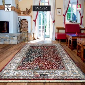 Alfombra Sualsa | Picasso 7557 Granate