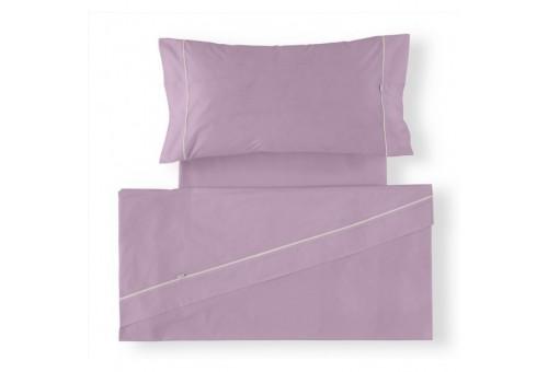 Juego de sábanas LISOS BIÉS 100% algodón (144 hilos). Es-Tela 116-MALVA