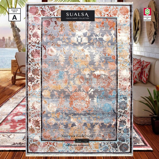 Sualsa Carpet | Picasso 309 Gray
