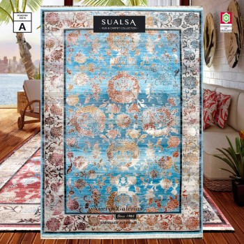 Tapis Sualsa | Picasso 309 Blue