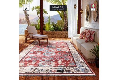 Tapis Sualsa | Picasso 309 Coral