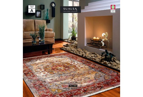 Sualsa Carpet | Picasso 264 Orange