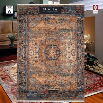Sualsa Carpet | Picasso 264 Blue