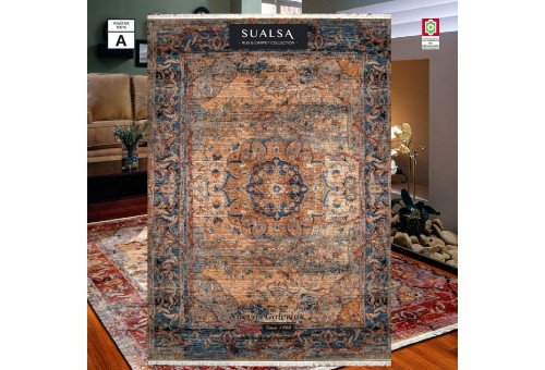 Sualsa Carpet | Picasso 264 Blue