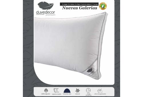 Duvedecor Oreiller Naturel Supreme 90% d´oie | Duvedecor - 1 Almohada de Oca Supreme | Duvedecor Línea Premium90% Duvet Oca -