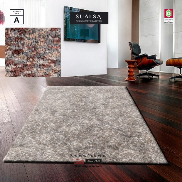 Sualsa Carpet | Acqua 1 Brown