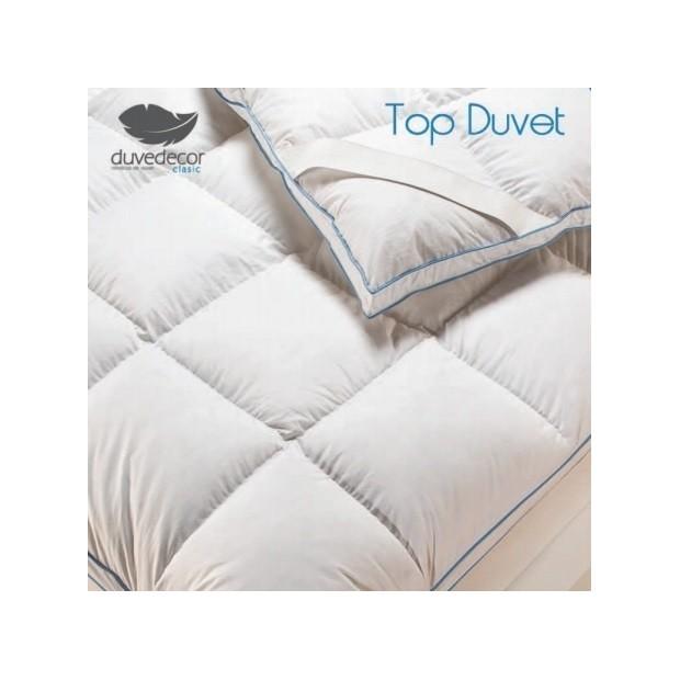 Duvedecor Topper materassi d´Oca | Duvedecor - 1 Sobrecolchon - Piumino Topper | Duvedecor 90% piumino d'oca - Doppia anima con