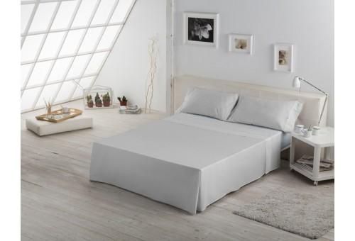 Juego sábanas de algodón Greta 024-PERLA