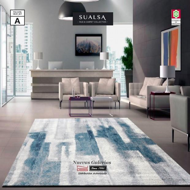 Alfombra Sualsa | Claire 759 Azul