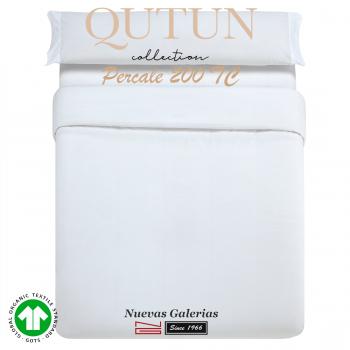 GOTS Bio-Baumwoll Bettwäsche | Qutun weiß 200 Fäden