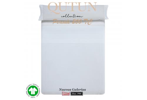 GOTS Organic Cotton Sheet Set | Qutun White 200 threads