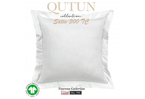 Federe in cotone organico GOTS | Qutun Bianco 300 fili