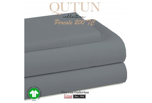 GOTS Organic Cotton Duvet Cover set   Qutun Ash 200 threads