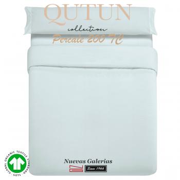 GOTS Organic Cotton Duvet Cover set | Qutun Sky 200 threads