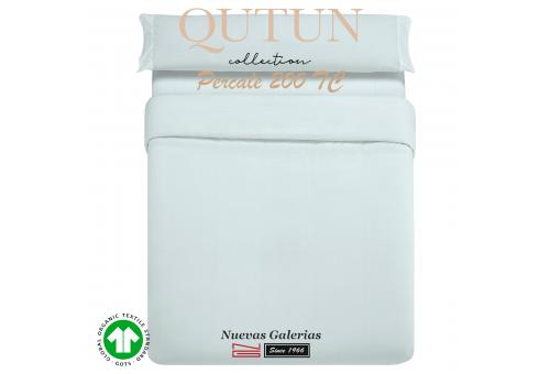 Completo Copripiumino in cotone organico GOTS | Qutun Cielo 200 fili