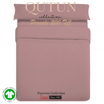 GOTS Organic Cotton Duvet Cover set | Qutun Nectar 200 threads