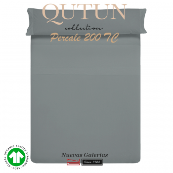 GOTS Organic Cotton Sheet Set | Qutun Ash 200 threads