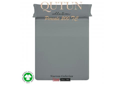 Completo Lenzuola in cotone organico GOTS | Qutun Frassino 200 fili