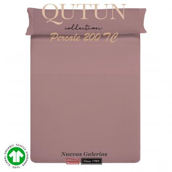 Ensemble de draps de coton biologique GOTS | Qutun Nectar 200 fils