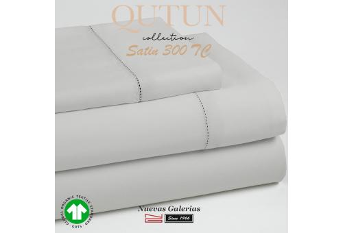 GOTS Organic Cotton Duvet Cover Set | Qutun Pearl 300 threads