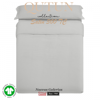 GOTS Organic Cotton Duvet Cover Set | Qutun Pearl 300 threads