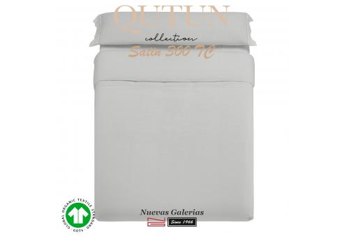 Completo Copripiumino in cotone organico GOTS | Qutun Perla 300 fili