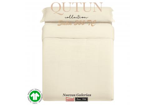 Funda Nordica Algodón Orgánico GOTS   Qutun Natural 300 hilos