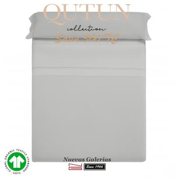 Completo Lenzuola in cotone organico GOTS | Qutun Perla 300 fili