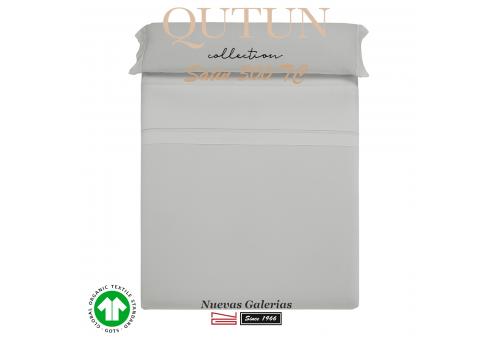 GOTS Organic Cotton Duvet Sheet Set | Qutun Pearl 300 threads