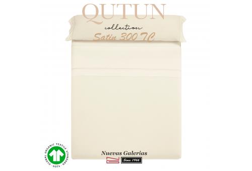 Juego de Sábanas Algodón Orgánico GOTS | Qutun Natural 300 hilos