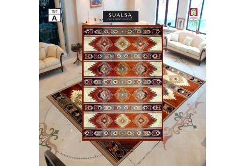 Alfombra Viscosa Sualsa | Dance 5865 Caldera