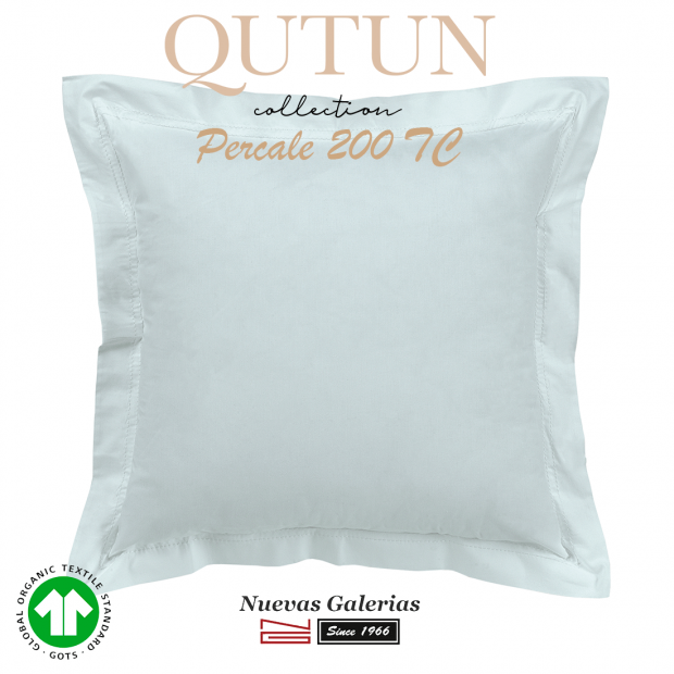 GOTS Organic Cotton Sham | Qutun sky 200 threads