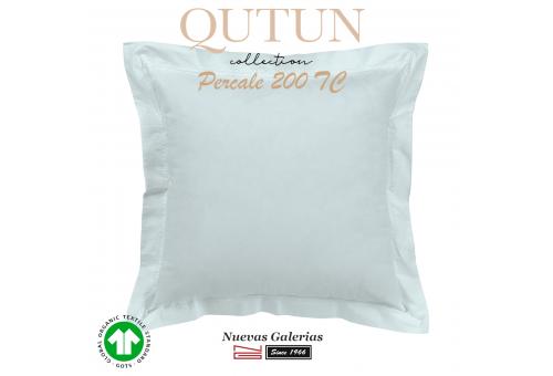 Federe in cotone organico GOTS | Qutun cielo 200 fili