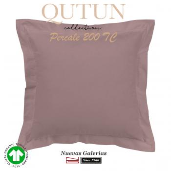 Taie D'Oreiller de coton biologique GOTS | Qutun nectar 200 fils