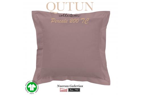 Taie D'Oreiller de coton biologique GOTS   Qutun nectar 200 fils
