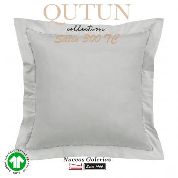 Taie D'Oreiller de coton biologique GOTS | Qutun Perle 300 fils