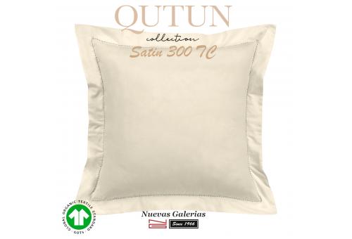 GOTS Organic Cotton Sham | Qutun Natural 300 threads
