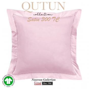 Cuadrante Algodón Orgánico GOTS | Qutun Rosa 300 hilos