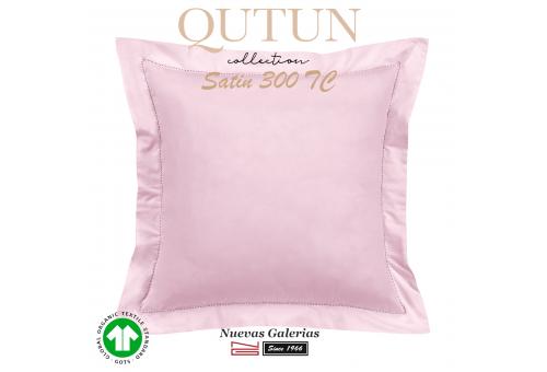 GOTS Organic Cotton Sham | Qutun Pink 300 threads