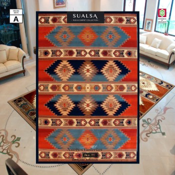 Sualsa Carpet | Dance 5865 Blue
