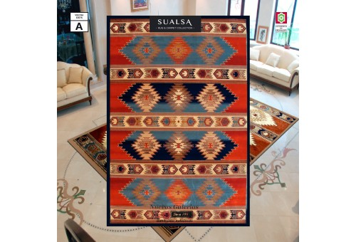 Sualsa Teppich | Dance 5865 Blue