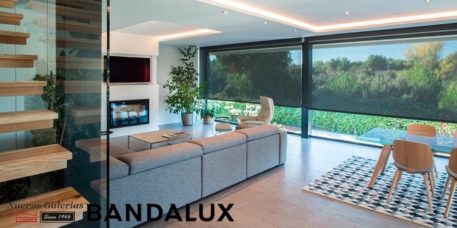 Store enrouleur Bandalux Premium Plus | Polyscreen 350