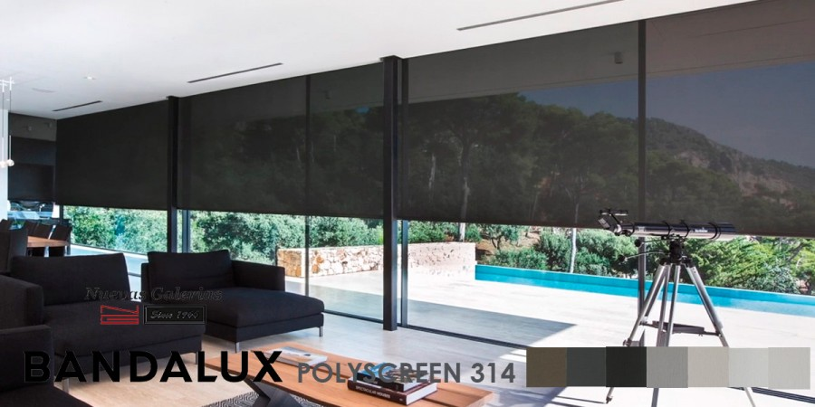 Estor Enrollable Premium Plus | Polyscreen 314 Bandalux