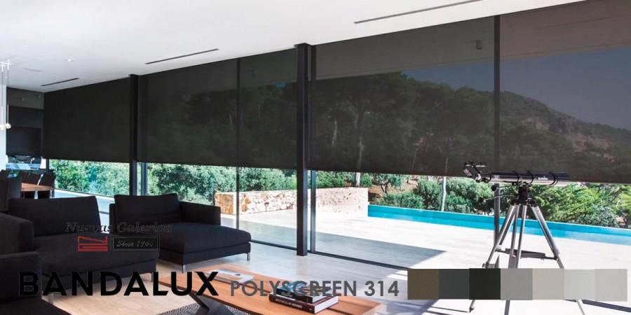 Roller Shade Bandalux Premium Plus | Polyscreen 314