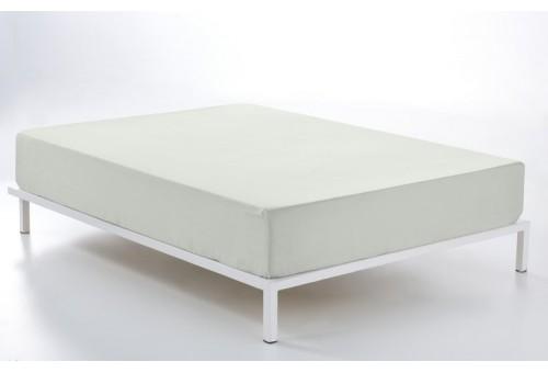 Bajera ajustable COMBI LISOS. 100% algodón (200 hilos) 313-HUESO